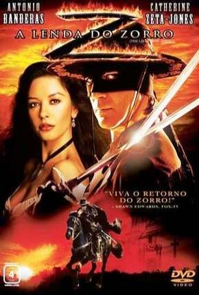 Filme A Lenda do Zorro BluRay Dublado / Dual Áudio
