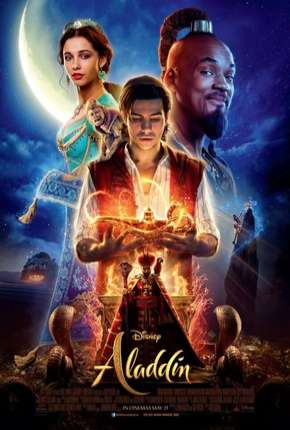 Filme Aladdin - BluRay Live Action Dublado / Dual Áudio