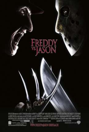 Filme Freddy X Jason BluRay Dublado / Dual Áudio