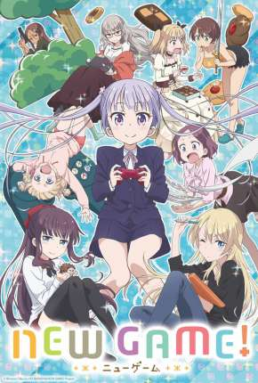 Anime New Game!! - 2ª Temporada Legendado