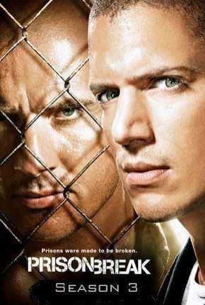 Série Prison Break - 3ª Temporada Dublada