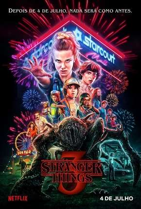 Stranger Things - 3ª Temporada HD Netflix Download