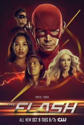 Série The Flash - 6ª Temporada Completo Dublada / Dual Áudio