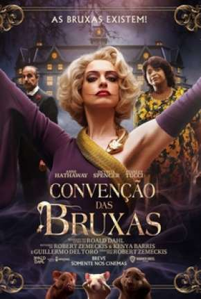 Filme Convenção das Bruxas - The Witches Dublado / Dual Áudio