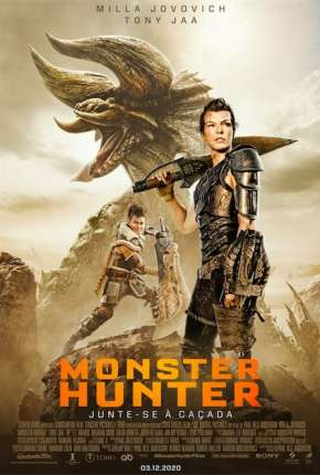Filme Monster Hunter Dublado / Dual Áudio