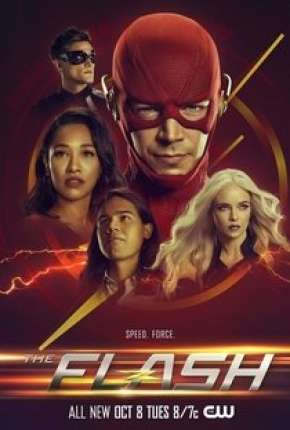 Série The Flash - 6ª Temporada Completa Dublada / Dual Áudio